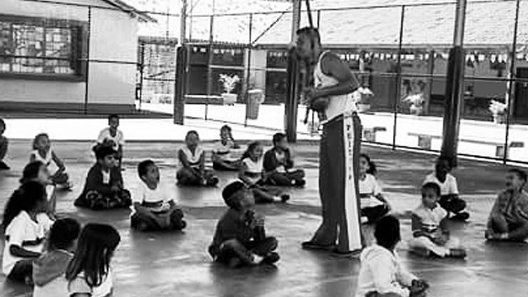 Valorização da capoeira