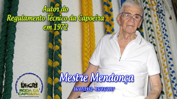 O Legado de Mestre Mendonça para a Capoeira