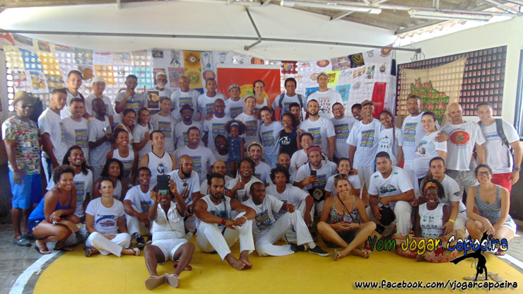 6º Encontro Nacional de Capoeira e Cultura Popular no Vidigal