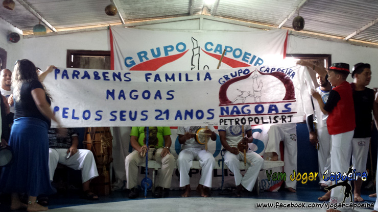 21 anos Capoeira Nagoas