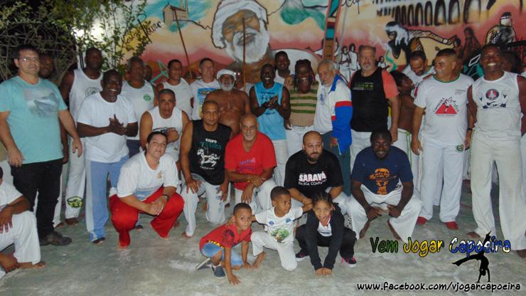 Roda de Capoeira no bairro da Penha é sinônimo de festa, alegria e confraternização