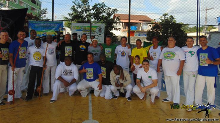 Encontro Internacional de Capoeira em Guapimirim - RJ