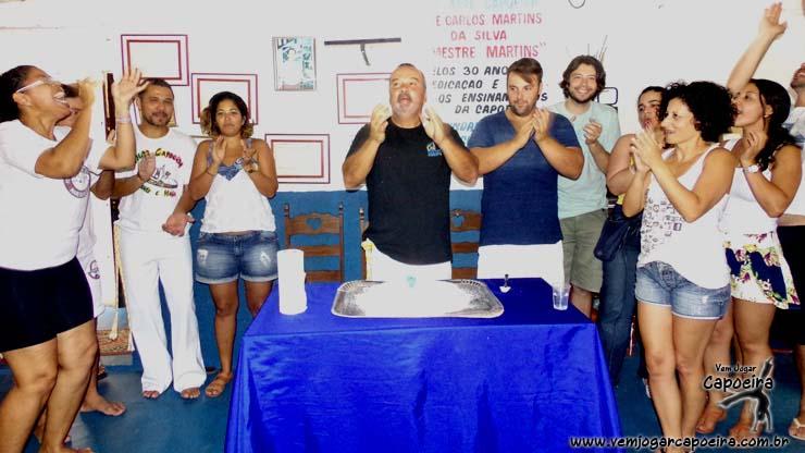 Aniversário do Mestre Eliel Silveira - Capoeira Nagoas