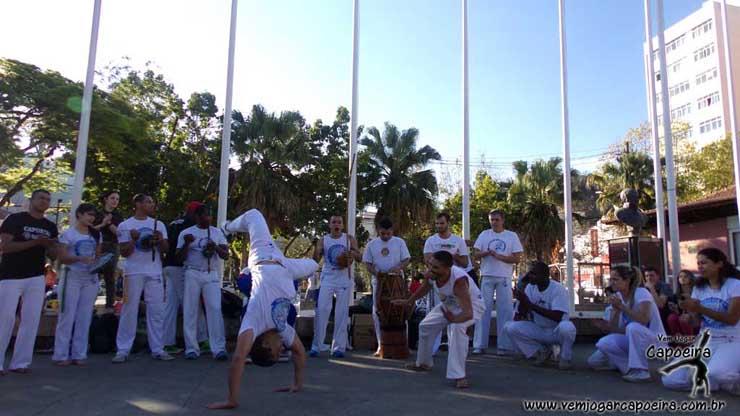 Roda de Capoeira com Amigos do Mestre Garganta