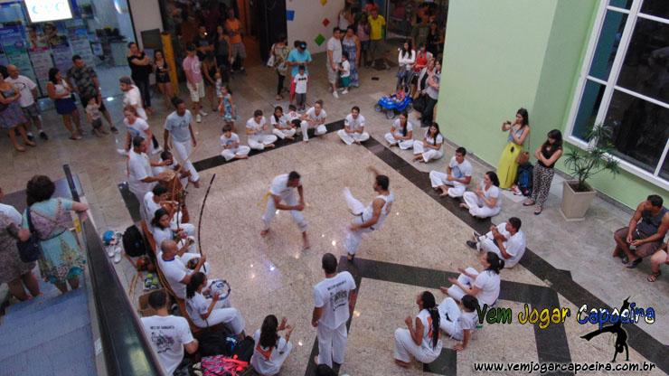 Roda da Associação de Capoeira Barravento NF