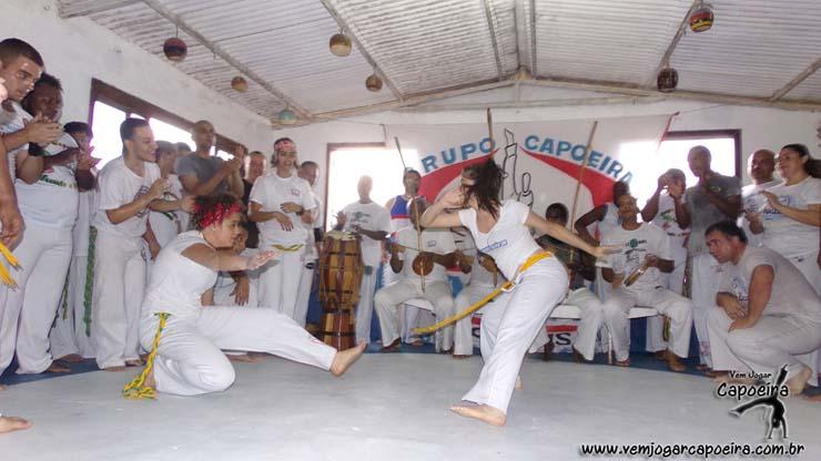 Batizdo e Troca de Cordéis da Associação de Capoeira Nagoas 2015