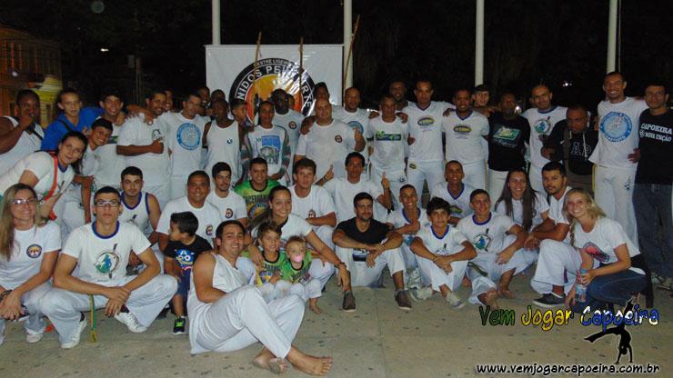19 anos de Capoeira do Mestrando Falcão