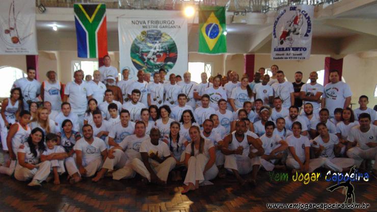 Batizado e Troca de Cordéis Associação de Capoeira Barravento NF