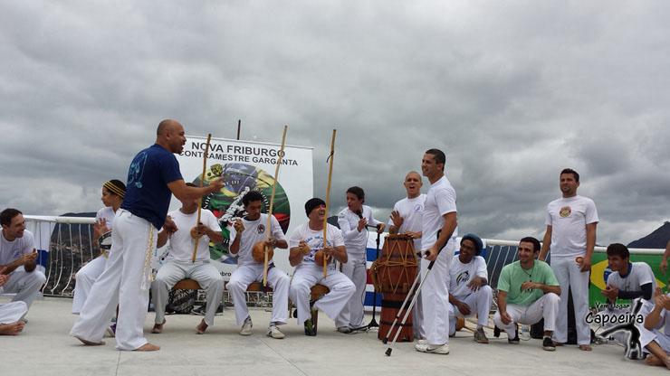 Roda de Capoeira Aniversário Contramestre Garganta