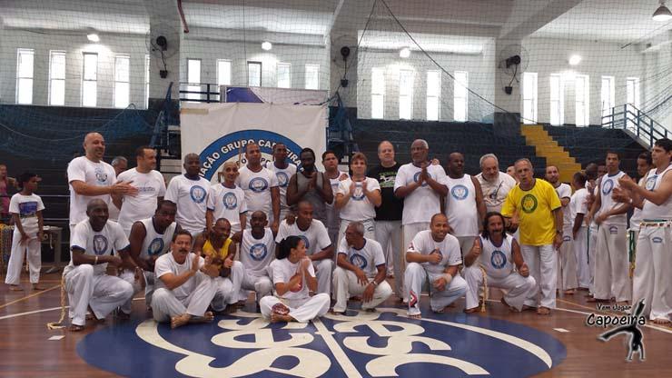 Batizado e Troca de Cordéis Associação Grupo Capoeira Martins