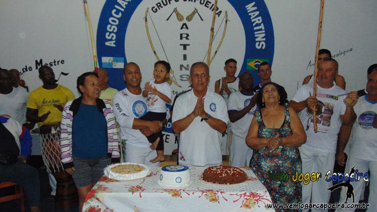 Roda de comemoração de Aniversário do Mestre Martins
