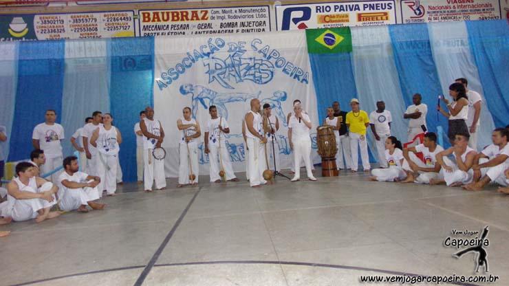 Batizado e Troca de Cordéis da Associação de Capoeira Raízes
