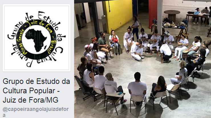 Grupo de estudo traz oficina de samba de coco e treino de capoeira para UFJF