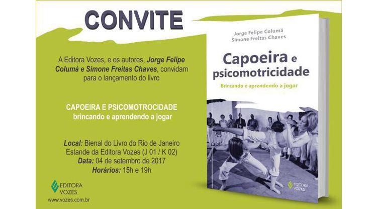 Coordenador pedagógico da equipe dos irmãos Nogueira lança obra na Bienal do livro