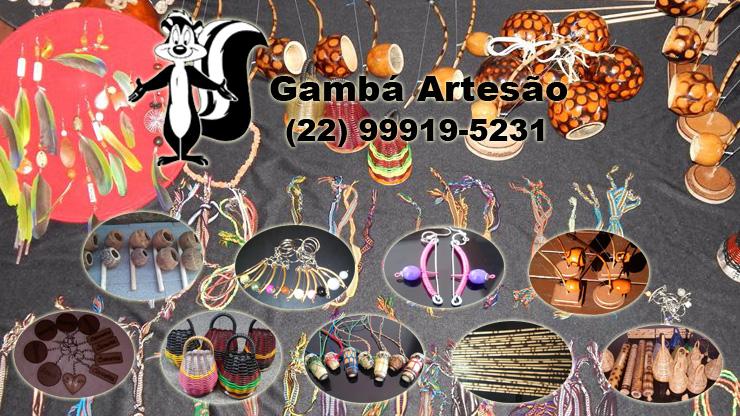 Produtos Gambá Artesão